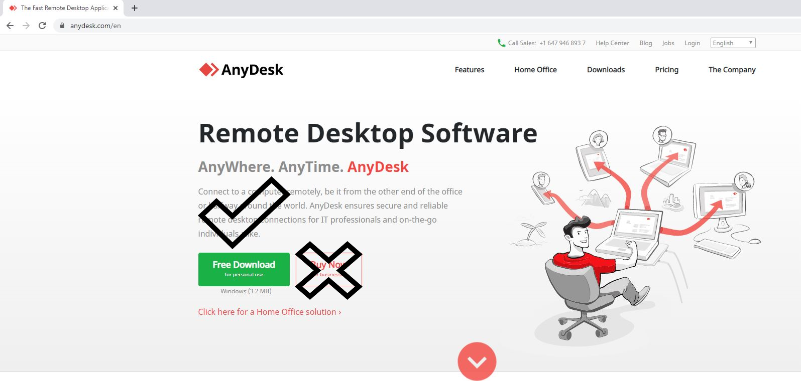 Anydesk website
